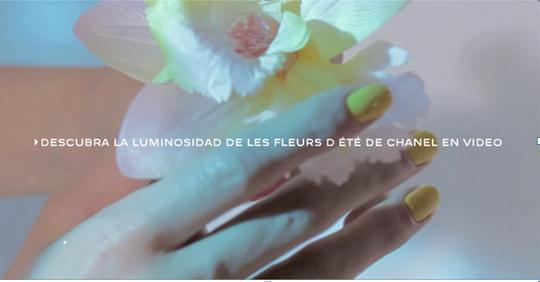 tono pastel de la marca chanel mimosa
