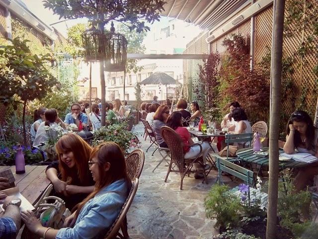 Terrazas madrile as con encanto for El jardin secreto madrid precios